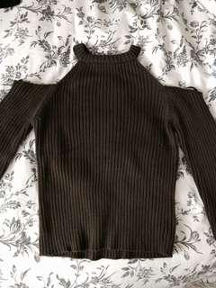 Cut out sweater from Forever 21