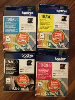 Brother LC565XL Ink Cartridges 墨匣