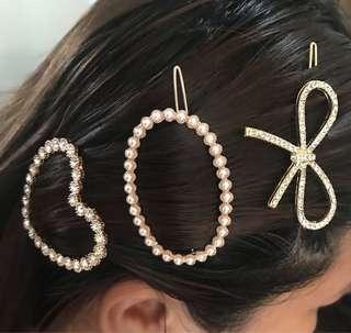BIG HAIR BARRETTES GET ALL AT 500-FIX PRICE