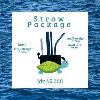 Sedotan stainles/ stainless straw