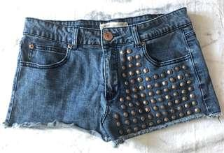 Cotton On Shorts with Studs