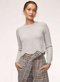 Wilfred Sardou Cropped Sweater - xxs