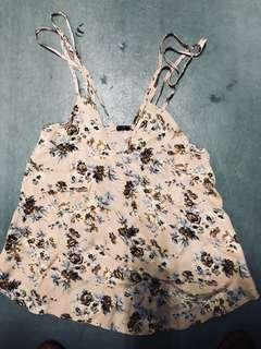 Double strapped brandy melville camisole