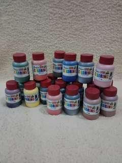 Leather paints