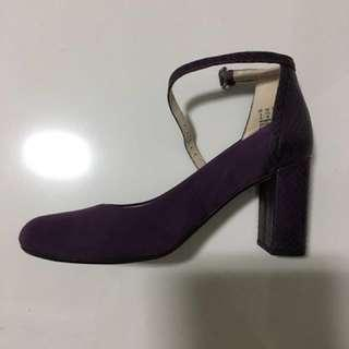 Clarks Gabriel Candy High Heels purple shoes