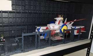 Gundam base display