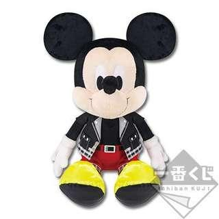 Ichiban Kuji Kingdom Hearts Mickey Plush
