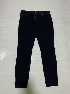 🚚 Forever 21 Black Skinny Jeans Size 31