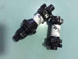 selling DT swiss spline hubs (pair) in good condition