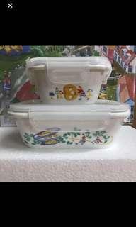 陶瓷餐盒1套2件(沙田圍站/鑽石山站交收)