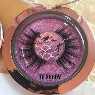 MERBABY 100% Mink Lashes Handmade Eyelashes Mermaidian Lashes