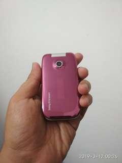 Sony Ericsson z610i pink kaler