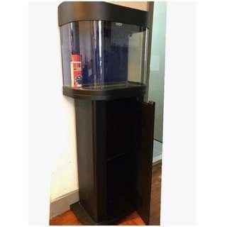 魚缸連儲物櫃 Aquarium Fish tank with Stand set ~ Includes air pump 氣泵