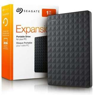 🚚 Seagate Expansion 1TB