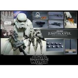"12"" 1/6 Hot Toys Star Wars JumpTrooper"