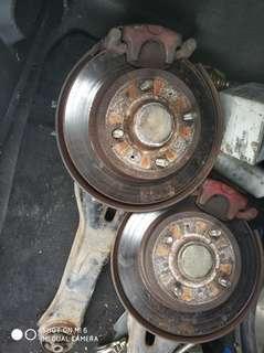 Disc brake belakang Rear Waja/Gen2