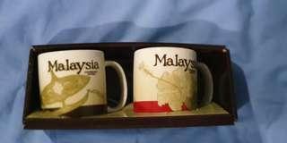 Starbucks demitasse Malaysia v1 and v2 each