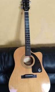 Epiphone acoustic electric guitar