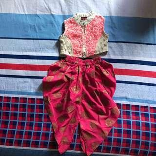 🚚 Indian Outfit for Babygirl (6-12months old)