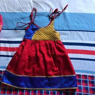 🚚 Indian dress (12 months old -24 months old)