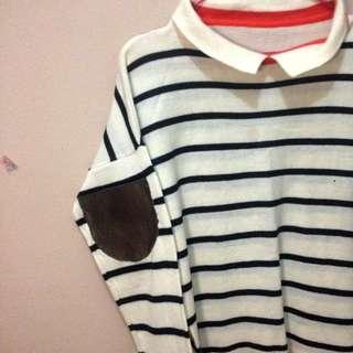 Sweater knit stripe