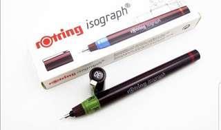 Rotring pen ( 0.5 dan 0.7)