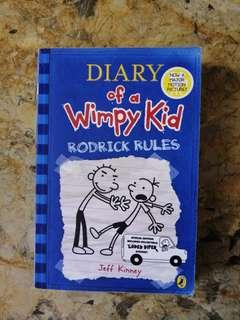 "🚚 Diary of a Wimpy Kid ""Rodrick Rules"""