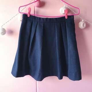 🚚 MDS Navy Blue Skirt
