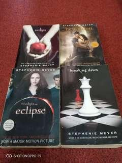 Twilight Series - Set of 4