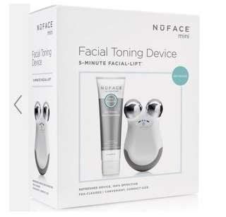 Nuface mini facial toning device refreshed 英國購入 英國直接免費送到府上 限時代購 經典白色 兩年保養