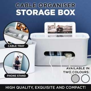 ★SG LOCAL★Storage Organisation cable organizer plastic cable box living room furniture storage box