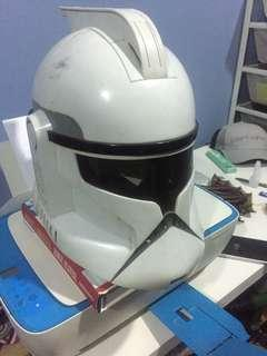 Star Wars Clone Storm Trooper Talking Voice Changer Changing Helmet Mask Cosplay