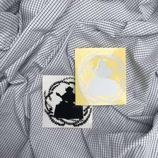 Sticker: Belitung Barat, Logo Fesbud2019