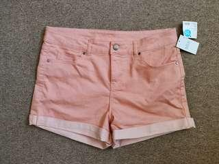 🚚 Brand new MIXX Pastel Coral Pink Shorts from Australia