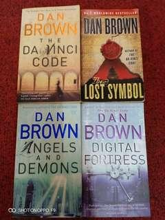 Dan Brown Series - Set of 4