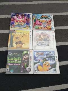 3DS Games assorted