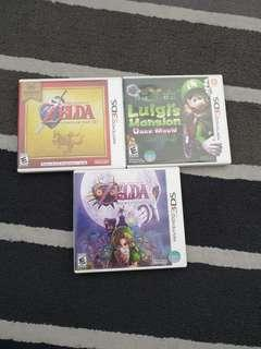 3DS Games Zelda