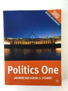 Politics One by Ian Ward and Randal G. Stewart University Textbook