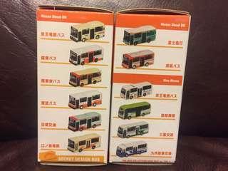 TomyTec The Bus Collection Mini Bus ver Vol.1 (一套12架)