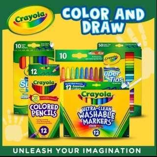 Instock! Brand New Crayola Non Toxic Washable Markers