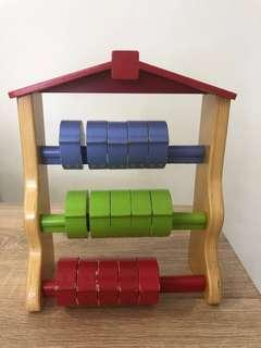 ELC Wooden Counting House