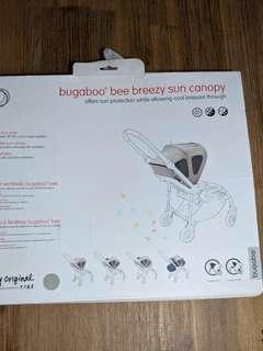 (best deal!!) Bugaboo Bee/Bee+/Bee3/Bee5 Breezy Sun Canopy - artic grey