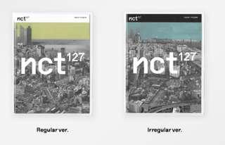 NCT 127 : Regular/ Irregular (Sealed & Ready stock)
