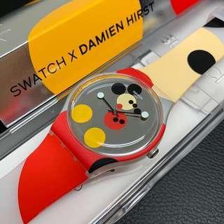 Swatch Mickey x Damien Hirst Watch