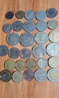 Coin lama dan baru