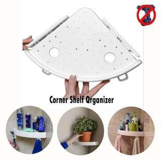 Corner Storage Holder Snap Up Shelves