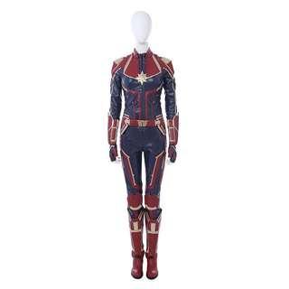 2018-2019 Newest Captain Marvel Costume!