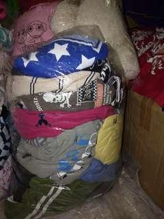 Man tshirt shor sleeve collar mix no collar (bundle)