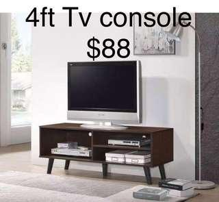 🚚 TV Console 4ft