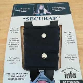 Securap, Secure Strap For Car Seats, Prams, Strollers & High Chairs